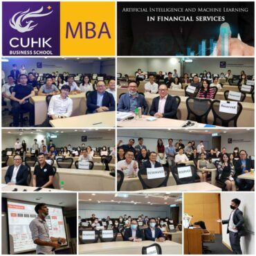 (Hong Kong) CUHK MBA – How to apply AI and Machine Learning Applications in Financial Services