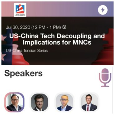 (Hong Kong) How will US-China Decoupling impact MNCs and Tech Startups in HK & Mainland China?